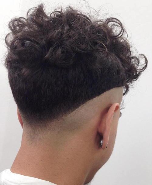 High Cut V Fade
