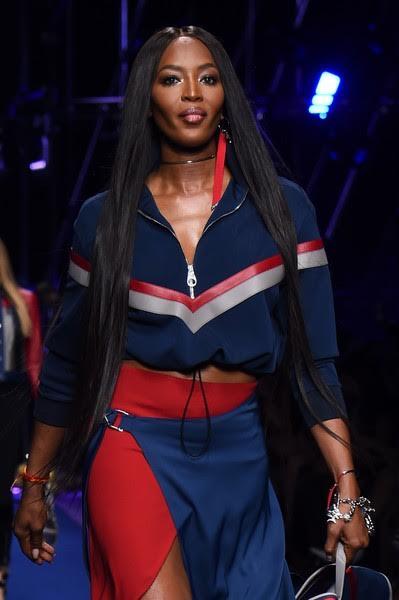 Naomi Campbell Ultra Longa do Cabelo