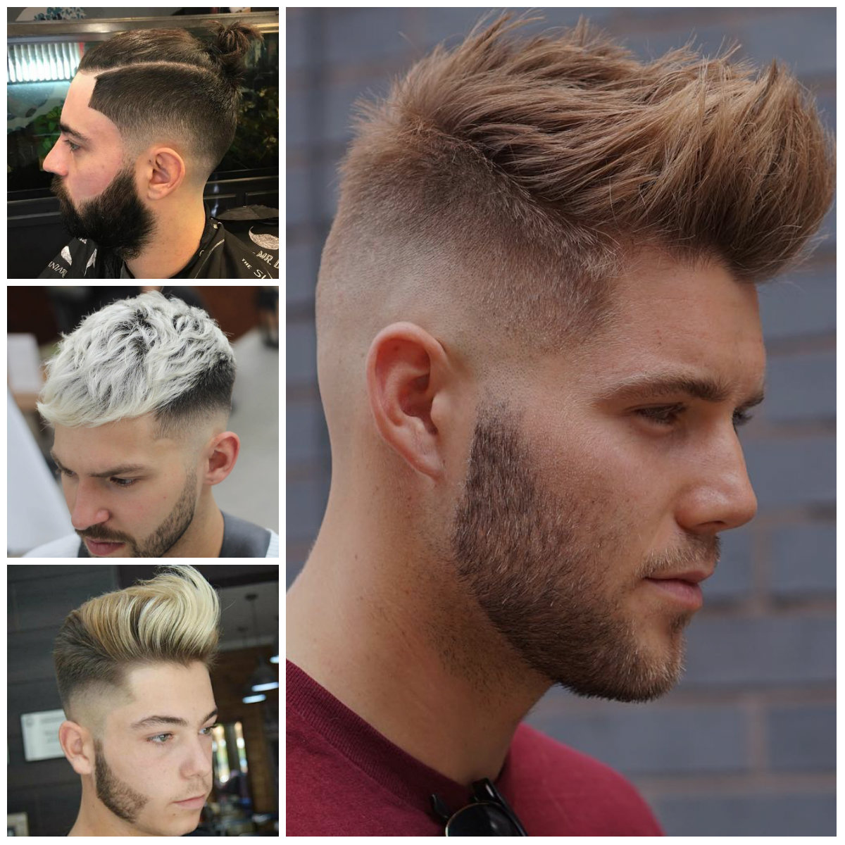 Hipster Cortes de cabelo para Homens 2017