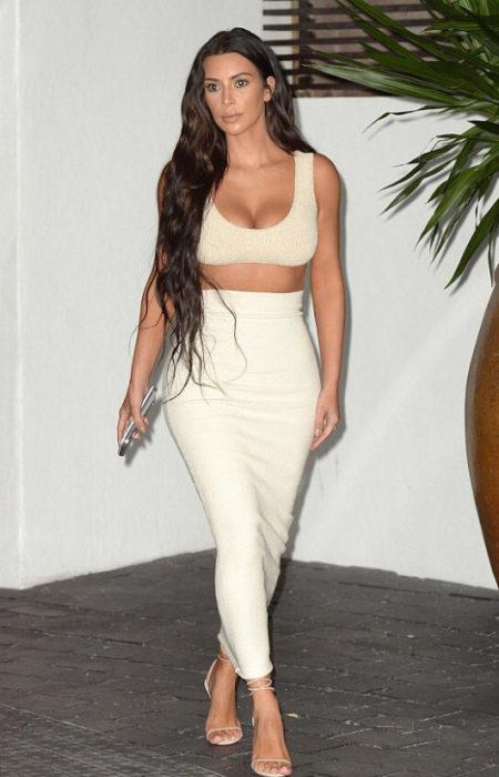 Kim Kardashian Ultra Longa do Cabelo