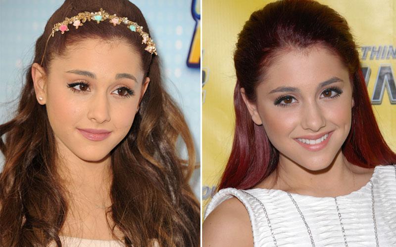 Novo Ariana Grande Inspiração De Penteados