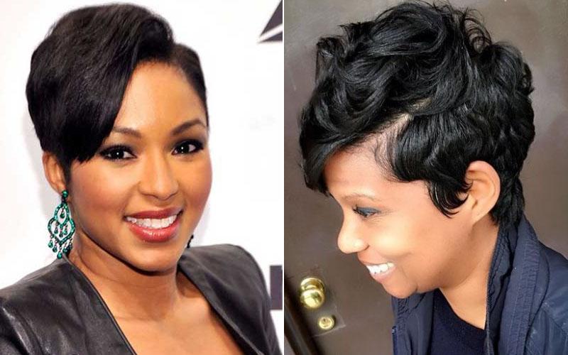 Corte de cabelo Curto de Mulheres negras de Cabelo Natural 2017