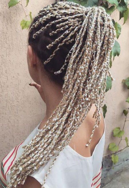 Legal Penteados com Tranças de Fios para 2017