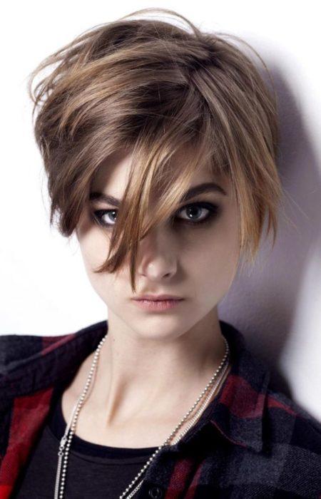 EMO Penteados para Meninas para 2017