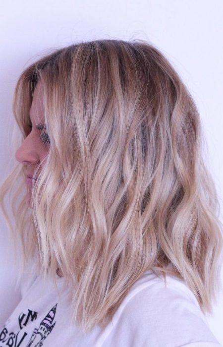 Texturizado cabelos Loiros