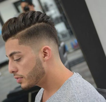 Detalhe do Corte de cabelo