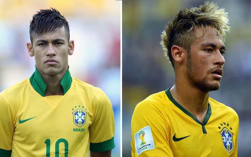 Neymar Novos Penteados 2017