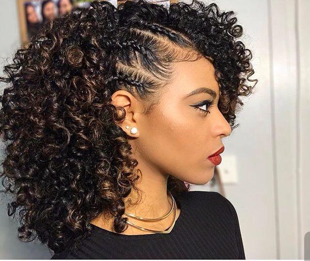 Natural Curly Penteados para 2017