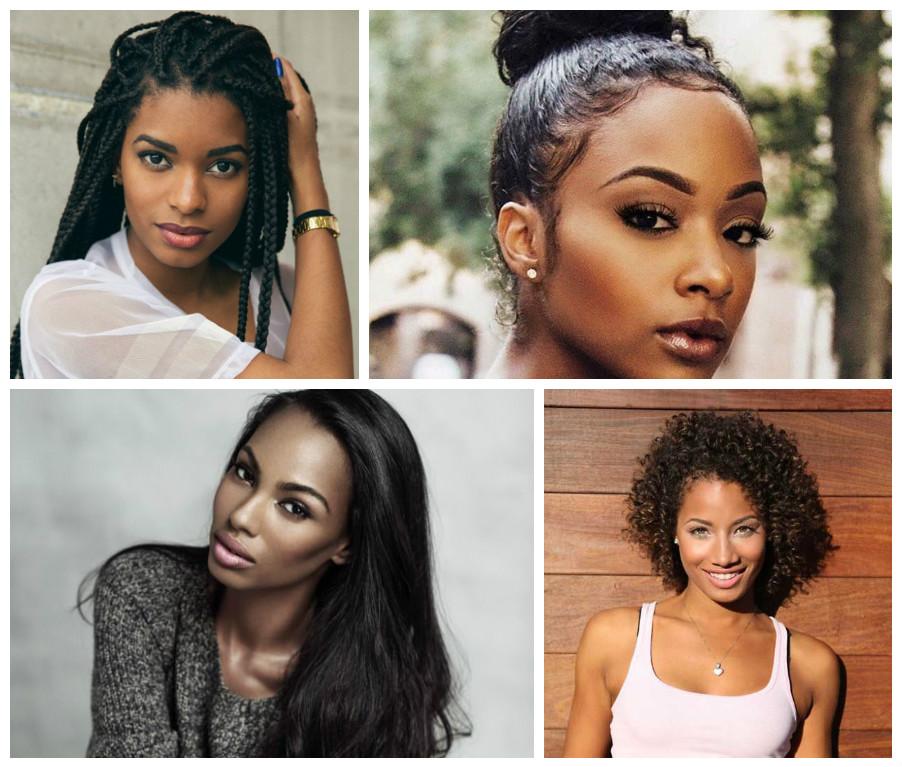 2017 Mulheres Negras Tendências De Penteado