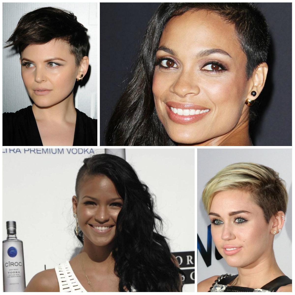 Mais quentes, Estrelas de Hollywood com Cortes de cabelo Undercut 2017