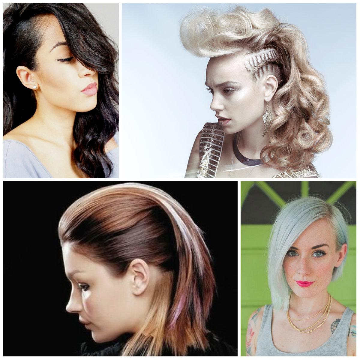 Penteado único Ideias para Cortes de cabelo Médio 2017