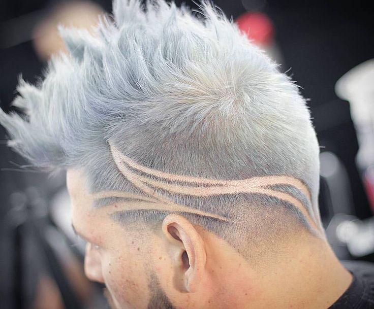 homem de cabelo tatuagem de 2017