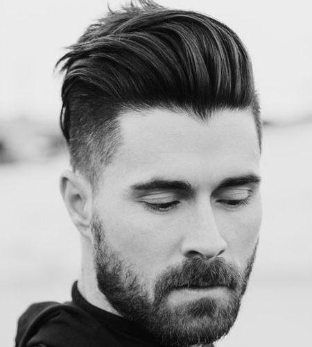 moderno topete penteado para homens 2017