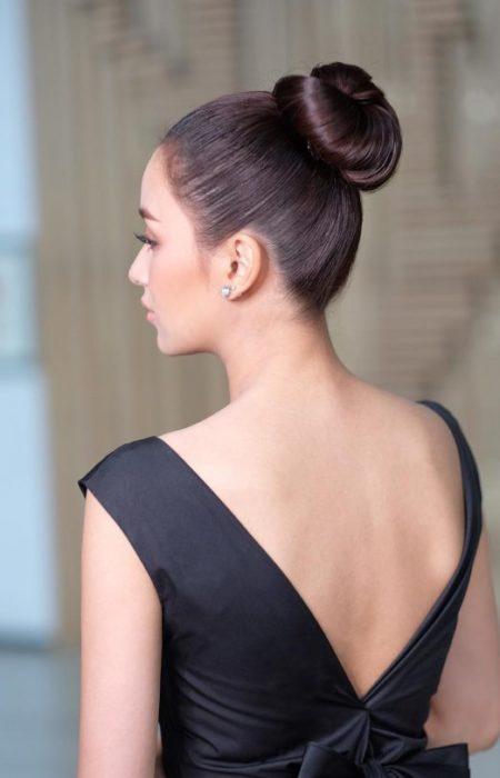 Elegante Penteado Bun