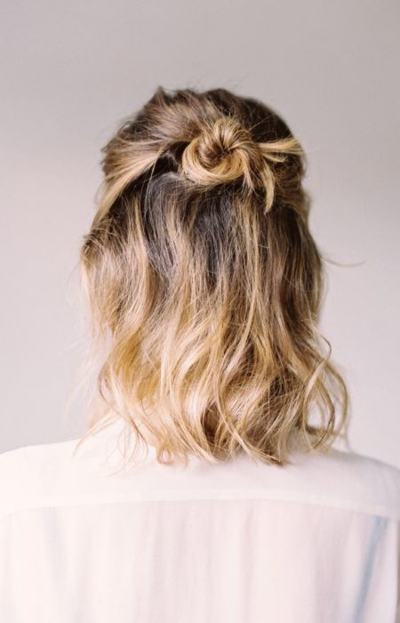 topete penteado