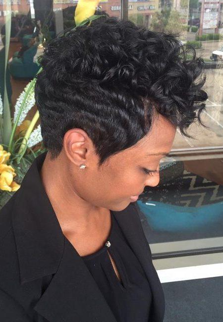 Fresco, Corte de cabelo Ideias para os Afro-Americanos, Mulheres em 2018