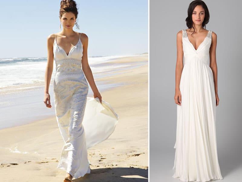 Moda 2018 Casual, Praia Vestidos De Casamento