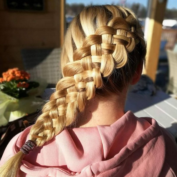Escola Penteados para Cabelos Longos