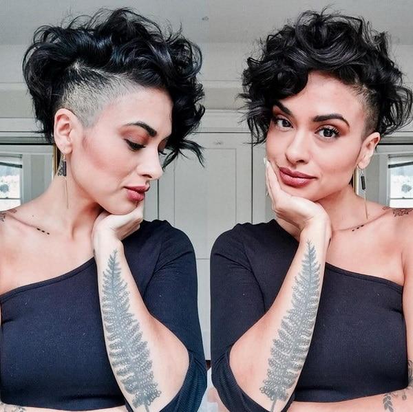 Pixie Cortes de cabelo para o Cabelo Encaracolado 2018