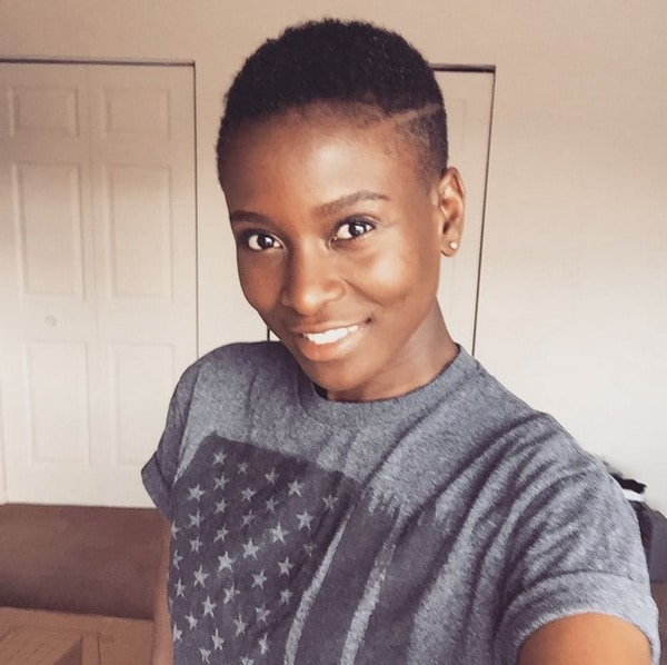 Preto Curto Cortes de cabelo [2018] para Mulheres negras