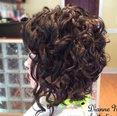 Cortes de cabelo Curto para Cabelos Crespos-10