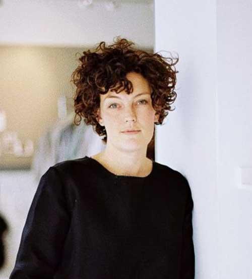 Cortes de cabelo Curto para Cabelos Crespos-11
