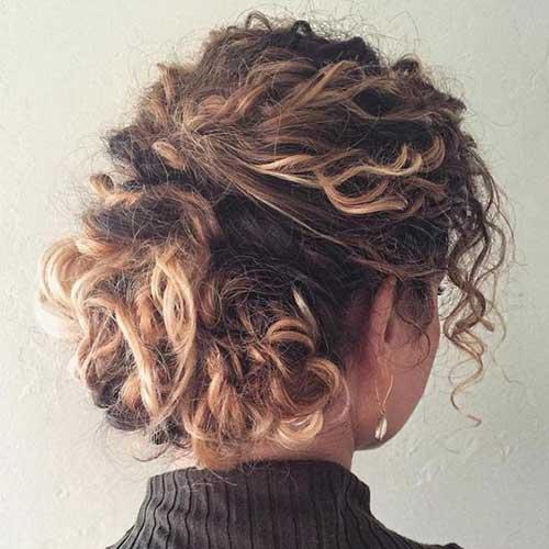 Cortes de cabelo Curto para Cabelos Crespos-12