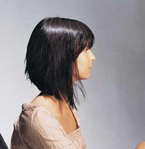 Curto em Camadas Cortes de cabelo-12