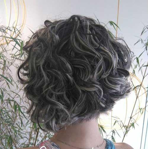 Curto Penteados Encaracolados-18