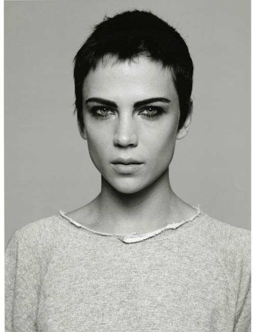 Modernos Penteados Curtos de Mulheres-6