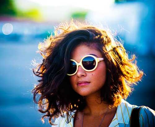 Cortes de cabelo Curto para Cabelos Crespos-7