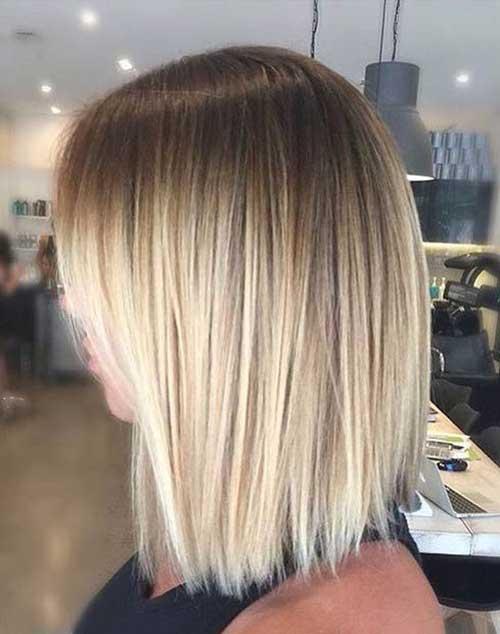 Cabelos lisos Cortes de cabelo Curto-7