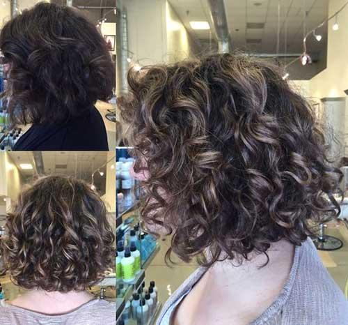 Cortes de cabelo Curto para Cabelos Crespos-8