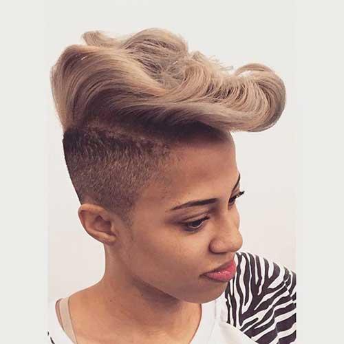 Modernos Penteados Curtos de Mulheres-9