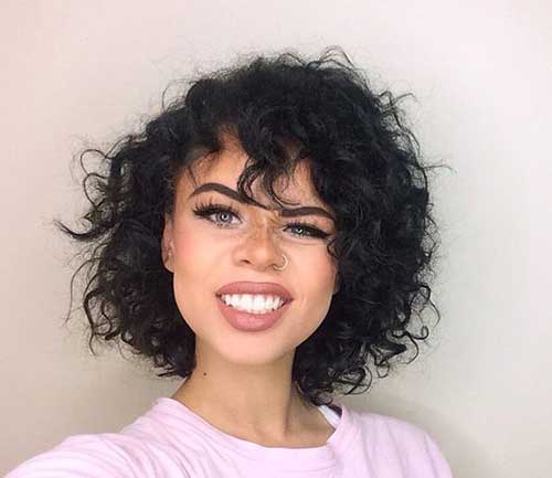 Curly Cabelo Curto