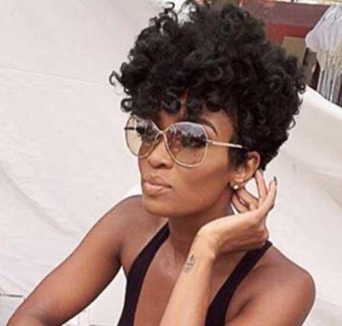 Cortes de cabelo Curto para as Mulheres negras