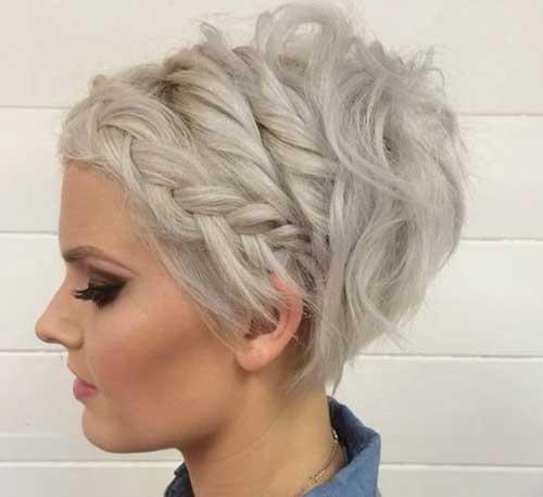 Mais Lindo Trançado Curto Penteados para Senhoras