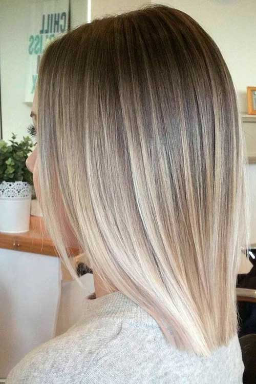 Sedutor Curta Cortes de cabelo para Senhoras com Cabelos lisos