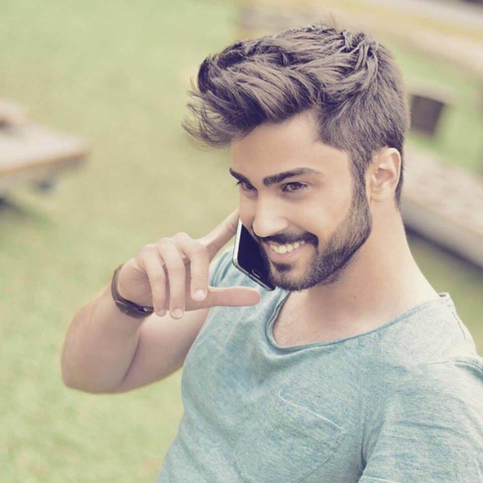 Tendência de curto penteados para todos os homens em 2018