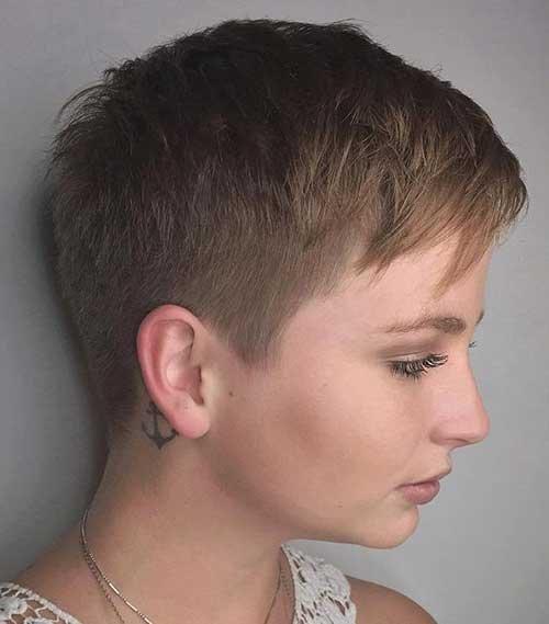 Super Curto Cortes de cabelo Novo e o Estilo Cool