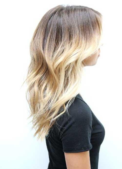 Realmente atraente amado penteados em camadas
