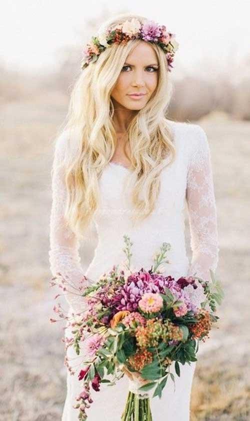 Melhor Casamento De Praia De Cabelo Estilo Bonito