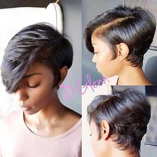 Bela Curto Penteados para Muito Preto Senhoras