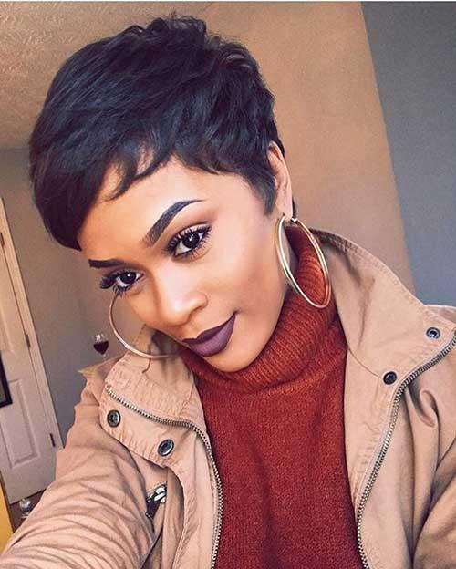 Cortes de cabelo Curto para Mulheres negras-15