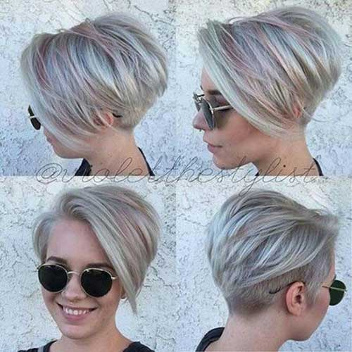 Totalmente Chique Estilos para Pixie Haircuts