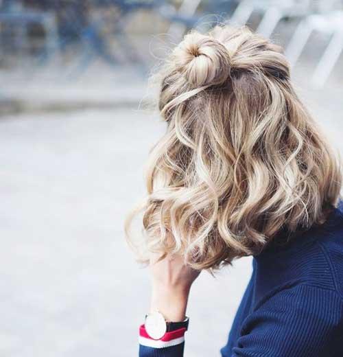 Encantador Ondulado Curto Penteados Você Deve Ver