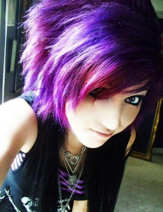 Top 10 Popular Emo Girls' Cortes De Cabelo