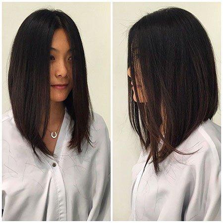 A melhor reta bob ideias de cortes de cabelo