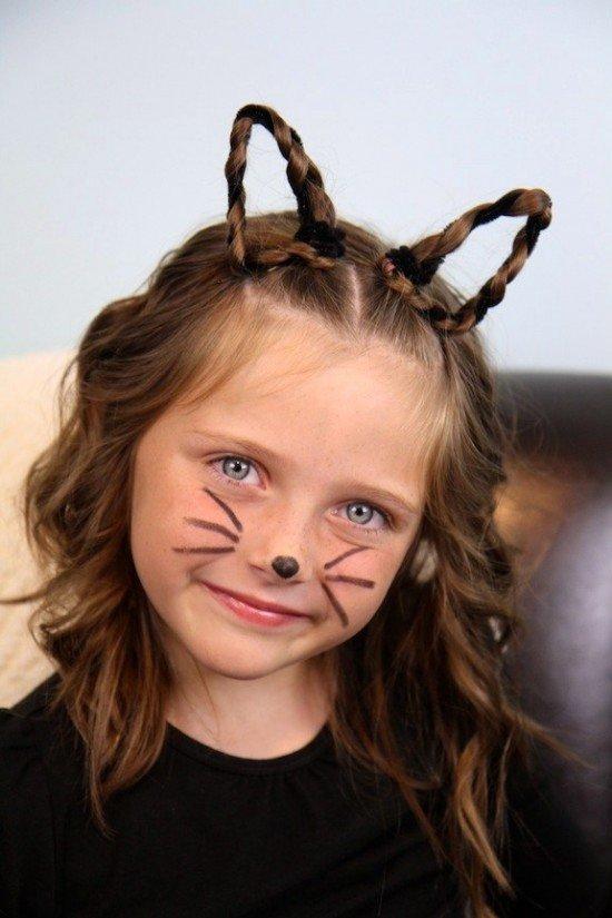 Louco de Halloween penteados de inspiração