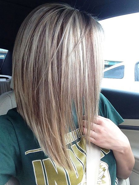 O mais popular invertido bob corte de cabelo